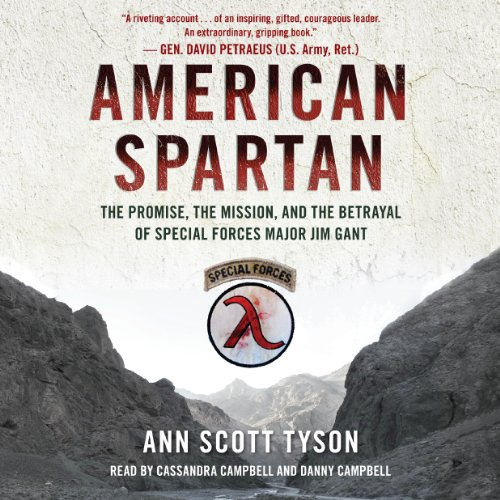 American Spartan audiobook cover art