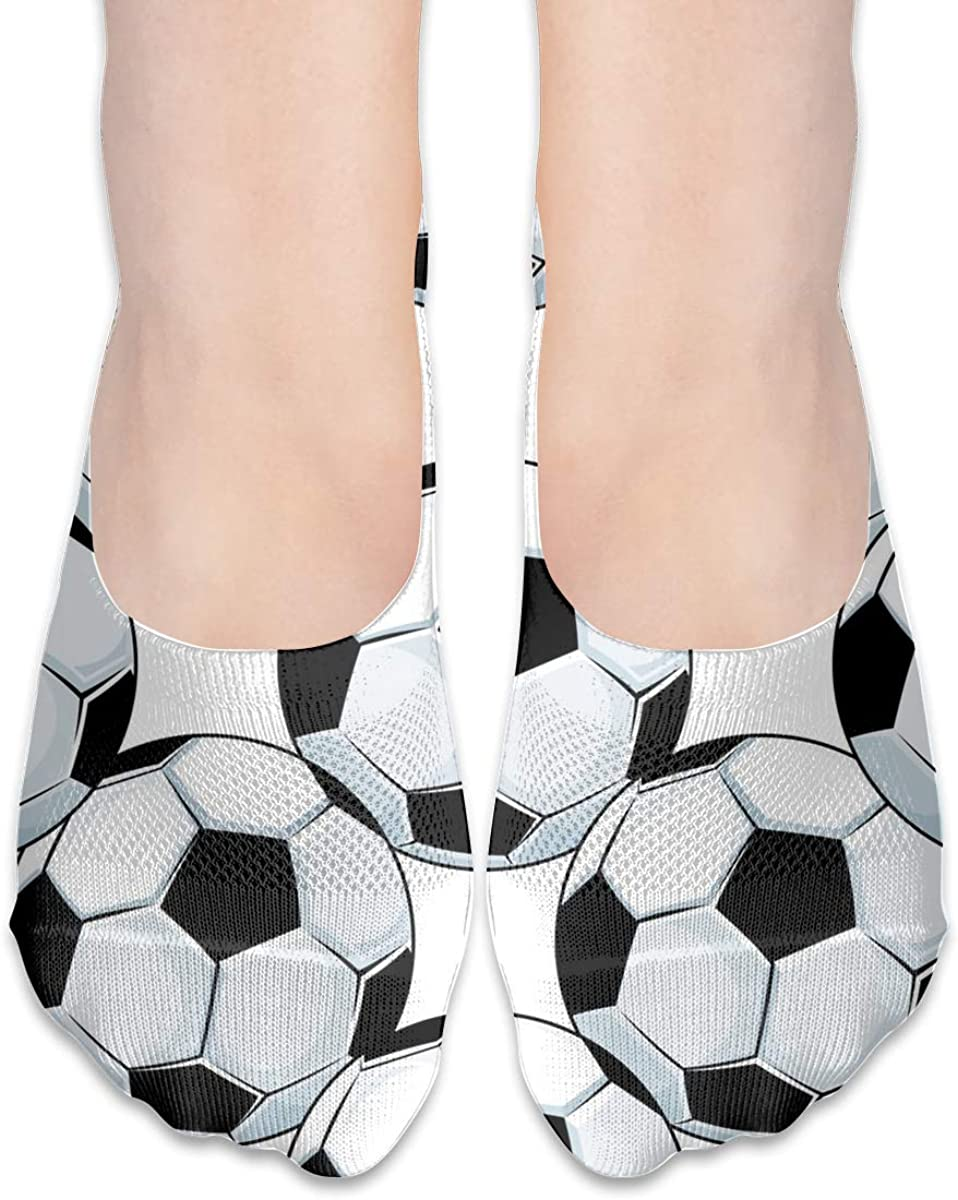 No Show Socks Women Men For Football Soccer Balls Sports Flats Cotton Ultra Low Cut Liner Socks Non Slip