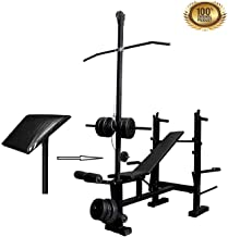 HULKMAX Produman 307/15 in 1 Home Gym Benches for Exercise and Fitness
