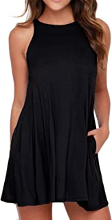 sleeveless tee shirt dress