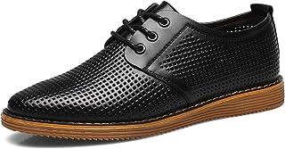 [ONE MAX] カジュアルシューズ 夏 メンズ 通気性 ビジネス 大きいサイズ シューズ メッシュ 通勤 軽量 レースアップ ドライビングシューズ 紳士靴