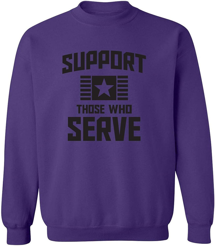 Support Those Who Serve Crewneck Sweatshirt