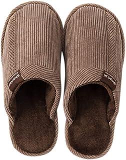 BaiMoJia Pantofole Donna Uomo Scarpe da Casa Confortevole Morbido Inverno Antiscivolo