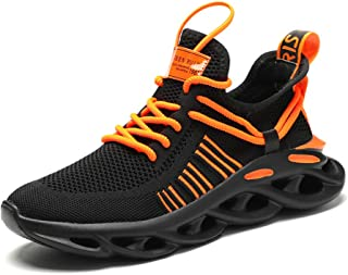 Mens Running Shoes Sports Gym Shoe Cross Training Slip-On Fashion Sneakers for Walking