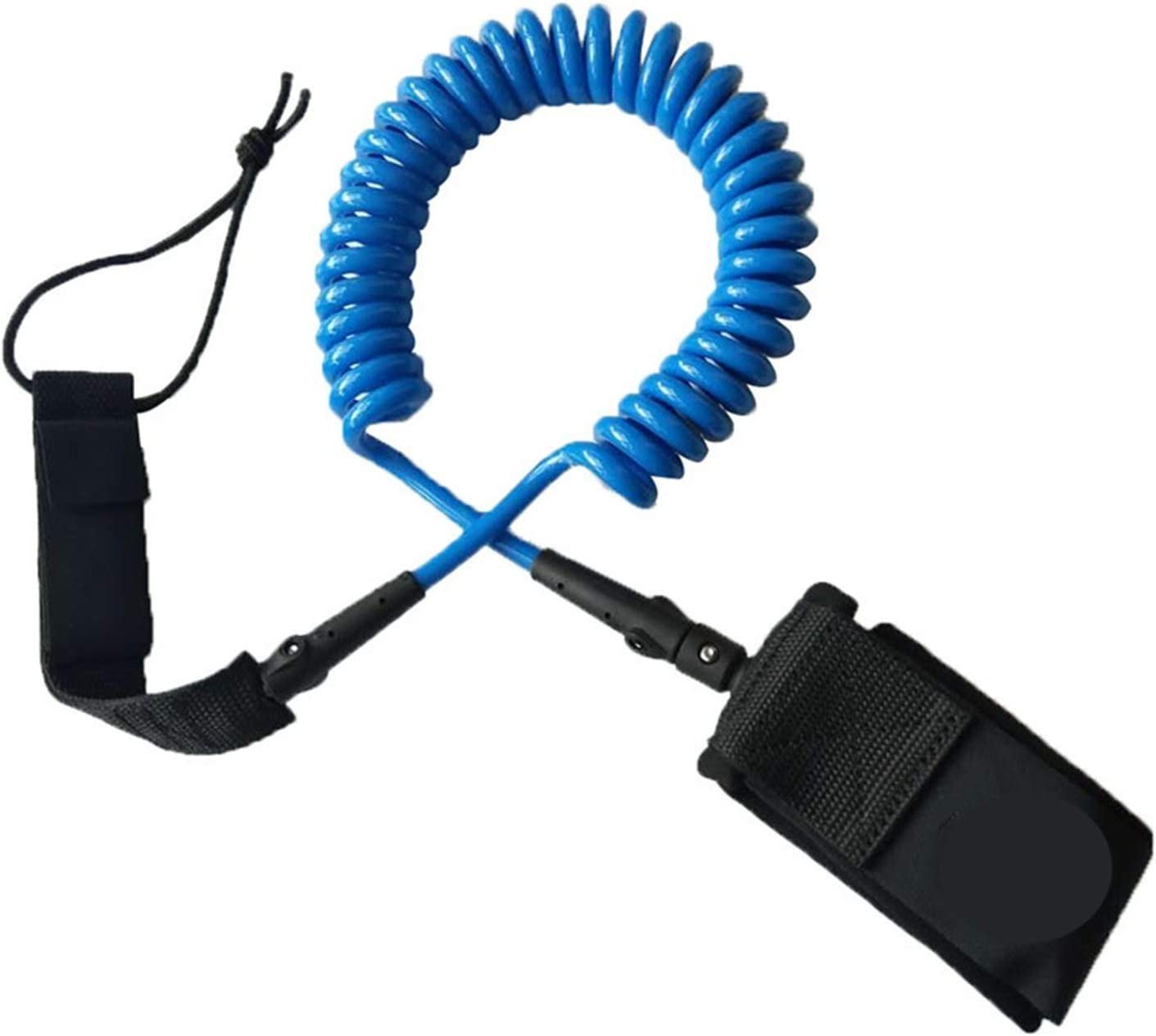 ZHU-CL Surf Sale item Board Leashes 12ft Max 59% OFF Coiled 7mm Leash Paddle Surfboard