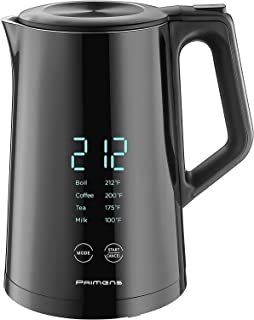 Smart Electric Water Kettle Variable Temperature Control Insulated - LED Display - Keep Warm - Water Heater Kettle for Tea...