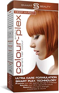 Smart Beauty   Deep Amber Copper Permanent Hair Dye  Professional Salon Quality Hair Colour   With Smart Plex Anti-breakag...