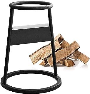 Firewood Kindling Splitter Racker, Cast Iron Firewood Log Splitter, Wedge Firewood Cutter Wood Splitting, Firewood Splitte...