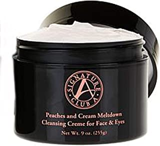 Signature Club A Peaches & Cream Meltdown Cleansing Creme for Face & Eyes Jumbo 9 oz.