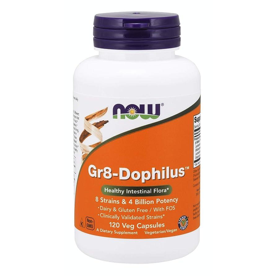 酸っぱい下向き性能海外直送品 Now Foods Gr 8 Dophilus - Enteric Coated, 120 Vcaps