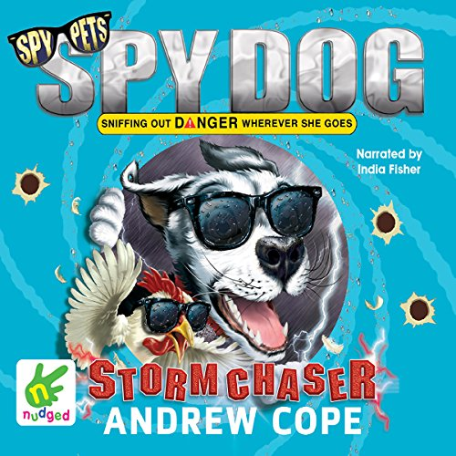 Spy Dog: Stormchaser audiobook cover art