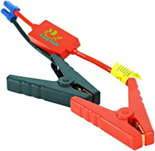 Tinyfish Replacement Alligator clip EC5 Battery Jumper Cable,SiLicon Booster Jumper Cables Automotive Jump Starter EC5 Connector Emergency Jumper Cable Alligator Clips for Car 12V Portable Car Jump St