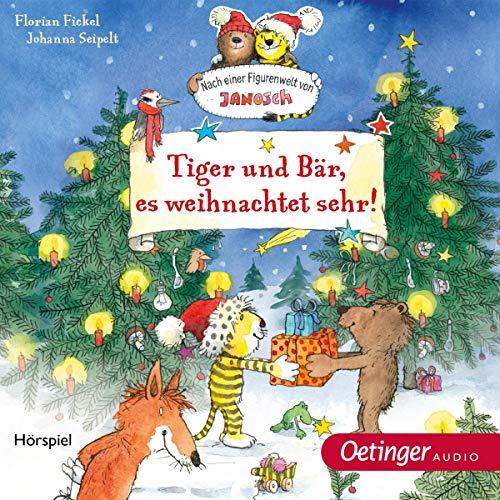 Tiger und Bär, es weihnachtet sehr Titelbild