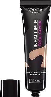 L'Oréal Paris Infaillible Total Cover Foundation, 32 Amber
