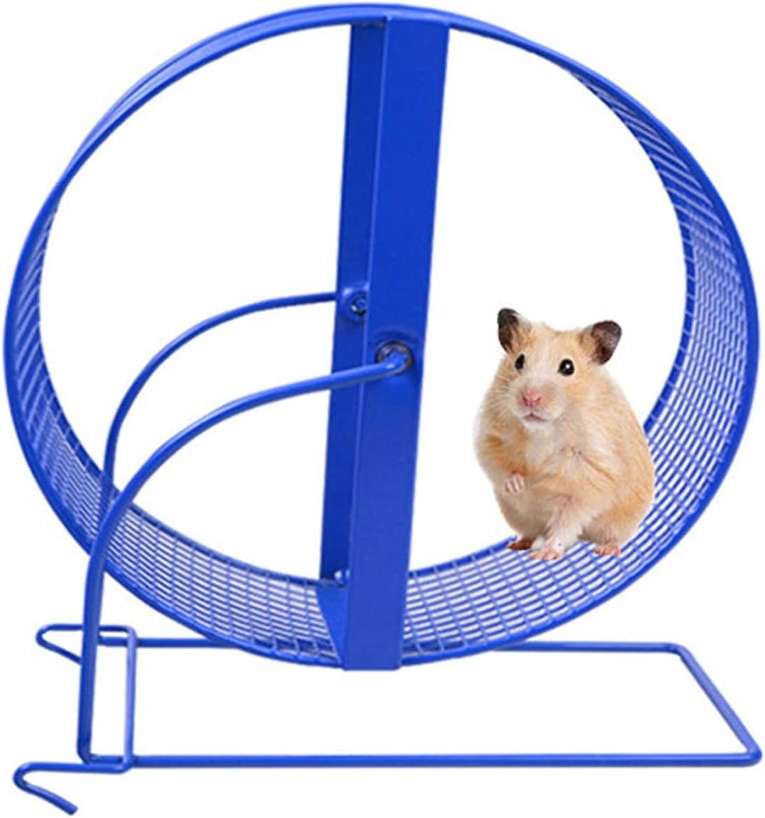 Color : Blue, Size : 14cm ZDAMN Hamster Wheel Pet ProductsHamster Gerbil Wheel Toy For Animals Small Pet Tread Exercise Wheel Pets Exercise Wheel