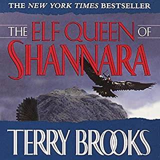 The Elf Queen of Shannara audiobook cover art