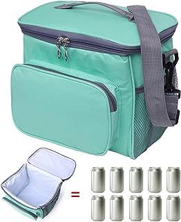scuola Blue picnic viaggi con cerniera isolamento termico per bambini in neoprene Abyelike impermeabile Borsa termica per il pranzo per trasportare cibo