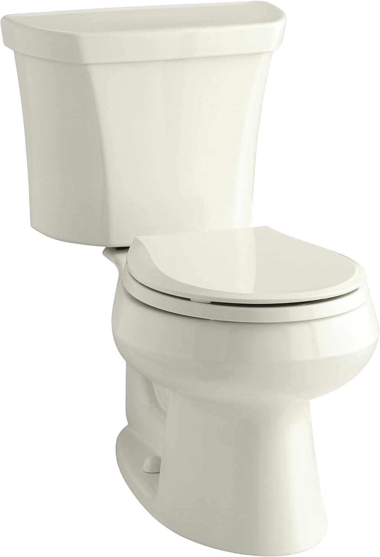 KOHLER K-3987-RA-96 Wellworth Max 56% OFF Toilet Max 46% OFF Biscuit