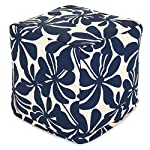 Majestic Home Goods Navy Blue Ottoman