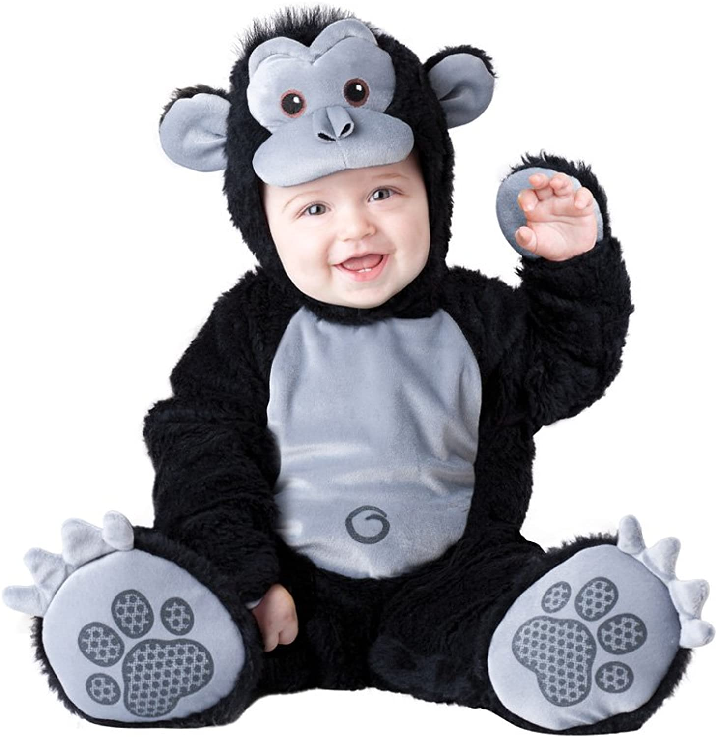 Goofy Gorilla Infant Toddler Costume Small 6-12 Months