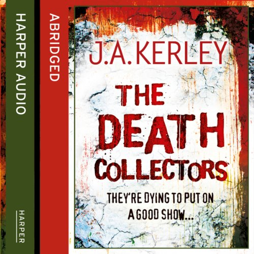 The Death Collectors audiobook cover art