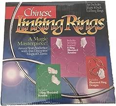 Loftus 8 Inch Magic Linking Rings (8 Piece Set), Multi