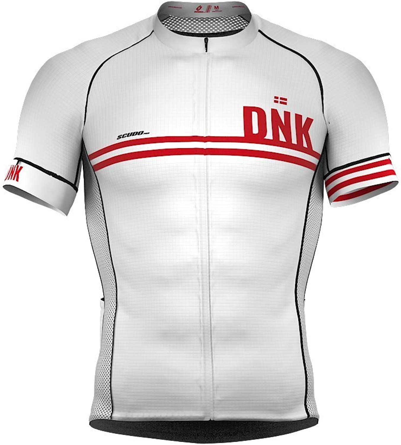ScudoPro Denmark Code Short Sleeve Cycling PRO Jersey for Women
