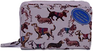 キャスキッドソン Cath Kidston ミニ財布 POCKET PURSE レディース OYSTER SHELL Mini Sketchbook Dogs 784863 [並行輸入品]