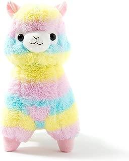 Eden Fghk 18cm Alpaca Vicugna Pacos Plush Toy Japanese Soft Plush Alpacasso Baby Plush Stuffed Animals Alpaca Gifts