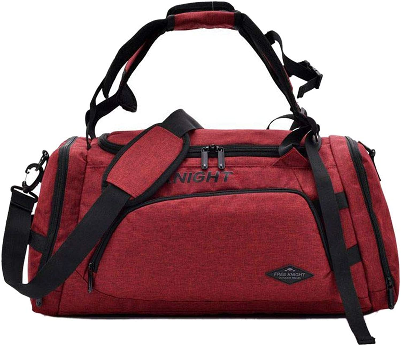 EgalBest Free Knight Men Woman Sport Fitness Bag Multifunction Training Gym Handbag Outdoor Sporting Tote Travel Bag 3  54  25  26cm