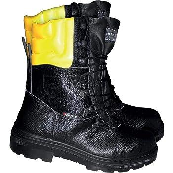 Cofra, 25580 000, Stivali resistenti Cut Woodsman BIS Abbattitori stivali con sega 40, nero