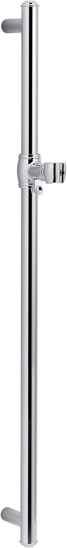 KOHLER K-72798-CP unisex Artifacts 30 In. 40% OFF Cheap Sale Slidebar Polished Chrome