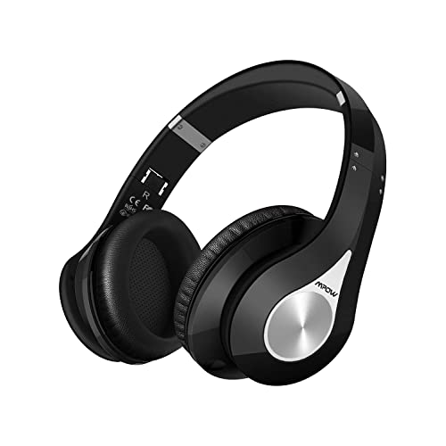Casque Bluetooth sans Fil Bluetooth Casque Audio Micro Intégrée Écouteurs Stéréo CVC6.0 Suppression du Bruit Bandeau Pliable Pochette Portable Bluetooth CSR Signal Kit Main Libre 18 Mois Garantie