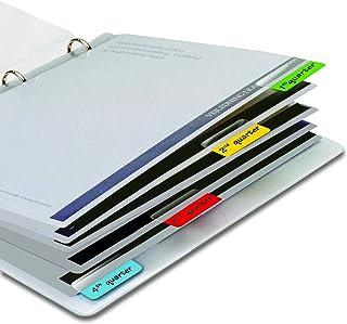 3L Fr 10522 - Sachet de 48 Onglets d'Indexation, Marque-Page, Index de Signalisation Adhésives Repositionnables 12 X 40mm,...
