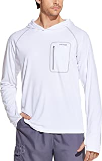 TSLA Men's (Pack of 1, 2) Rashguard Swim Shirts, UPF 50+ Loose-Fit Long Sleeve Shirts, Cool Running Workout SPF/UV Tee Shirts