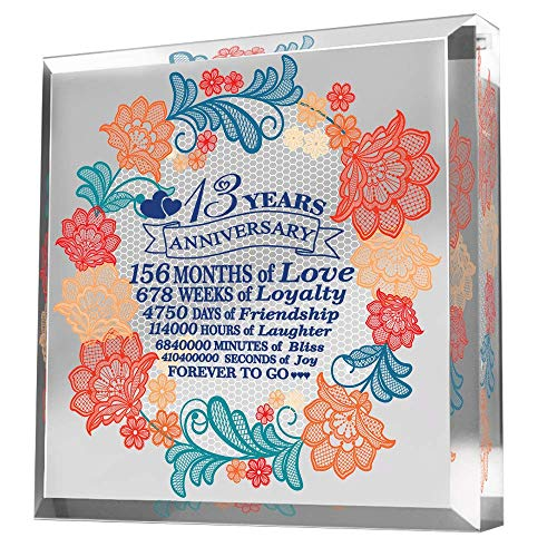 Bella Busta-13 Years Anniversary-Traditional Lace Design for 13th...