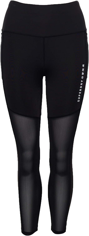 Superdry Sport Training Leggings Black