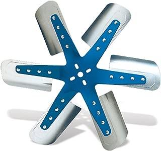 Flex-a-lite 1318 Blue Star Stainless Steel 6-Blade 18-1/4