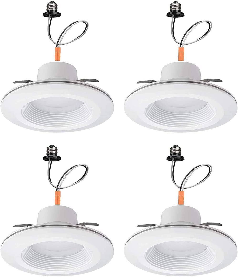 Commercial Electric 6 in. Inexpensive Genuine White Recessed Downligh LED Integrated