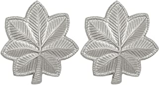 U.S. Army Metal Pin On Officer Rank NON-SUBDUED (SHINY) - 1 PAIR