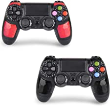 2 Pack Wireless Controllers for PS4 and Joystick for Playstation 4 Control - YU33 for DS4 Remote Joystick Support Playstat...