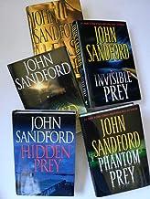Set of 5 Lucas Davenport Prey Series Suspense Thrillers by John Sanford: Invisible Prey, Phantom Prey, Hidden Prey, Naked ...