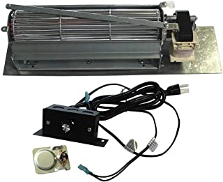 Mr. KAN FK24 Replacement Fireplace Blower Fan Kit for Monessen, Vermont Castings, Majestic, Northern Flame, Temco, CFM, Rotom HB-RB65