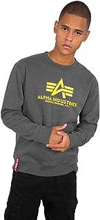 ALPHA INDUSTRIES Men's Sweater Basic Sweatshirt