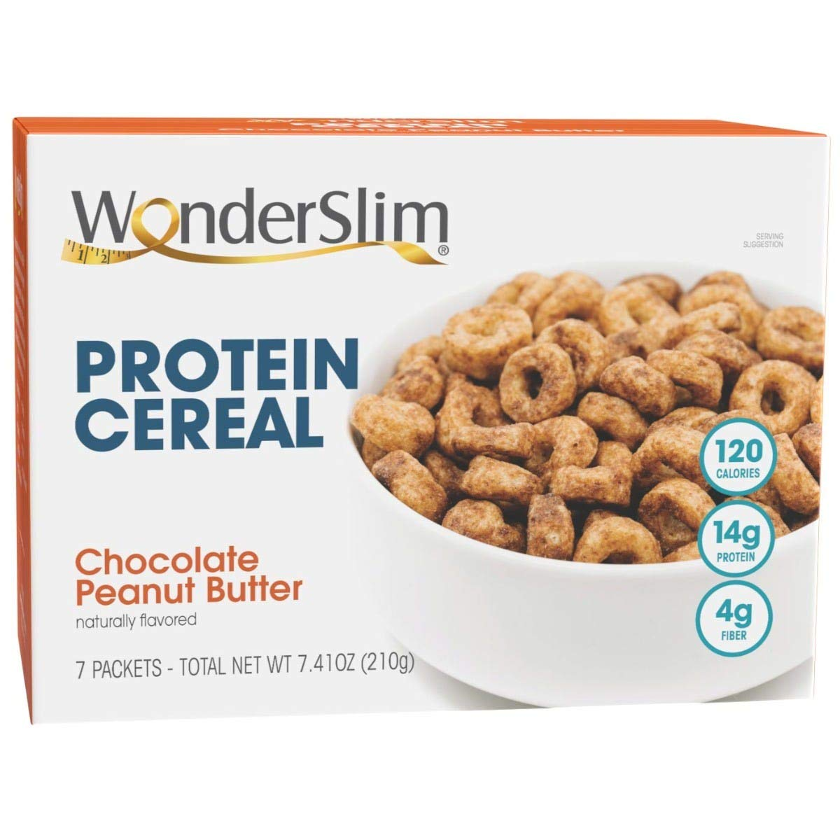 WonderSlim Protein Cereal Animer and price revision Seasonal Wrap Introduction Chocolate Peanut Calorie Low - Butter