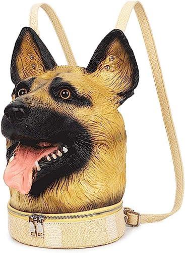 Tier Rucksack Wolf Hund Kopf Rucksack mädchen Pers ichkeit Kreative Schmuck Paket Wasserdicht Sto st Atmungsaktiv Lustig Niedlich Mode Tasche