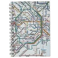 東京カートグラフィック リングノート 鉄道路線図 A6 首都圏 RNRSJ