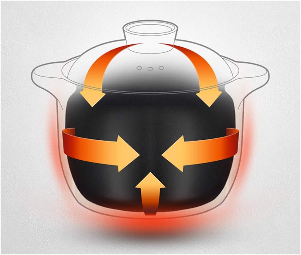 Récipient en fonte - En céramique - Compatible avec cuisinière à gaz résistant à la chaleur stylename size Rose 3000 ml. Rose 4000 ml.