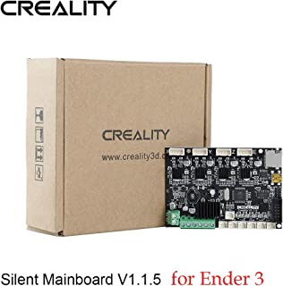 Creality 3D Ender 3 New Upgrade Motherboard Silent Mainboard V1.1.5 with TMC2208 Driver for Ender 3 3D Printrer (Customized and Non-Standard Matching)