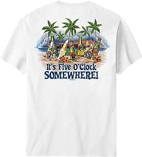 Big Dogs Five O Clock Somewhere Beach T-Shirt
